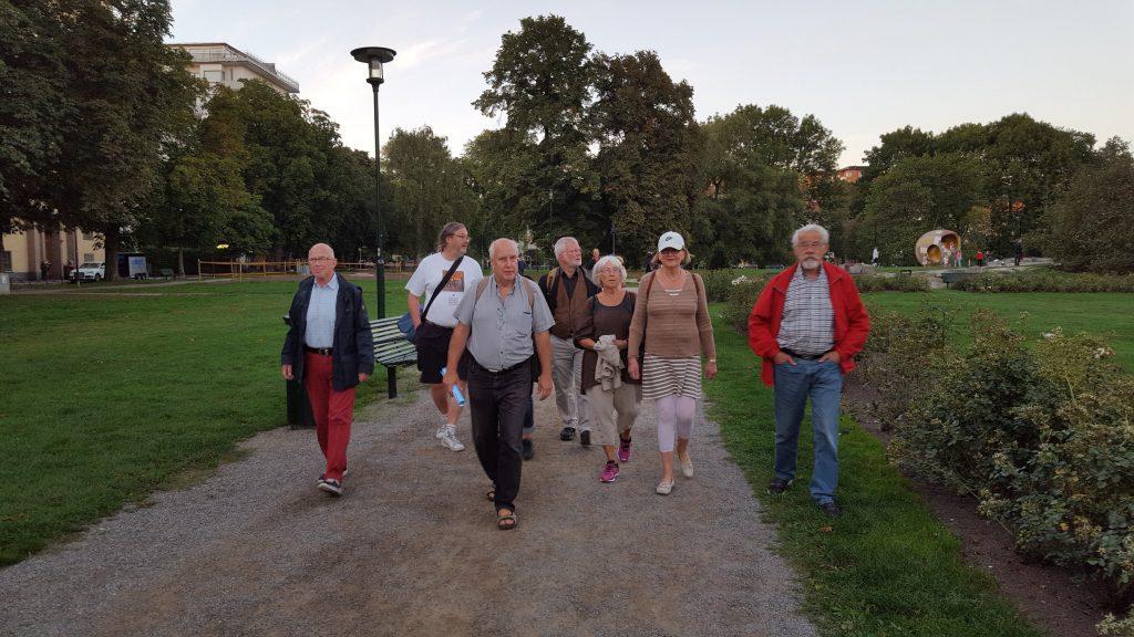 Bertil, Gunnar, Eric, Stefan, Margareta, Ann och Gunnar