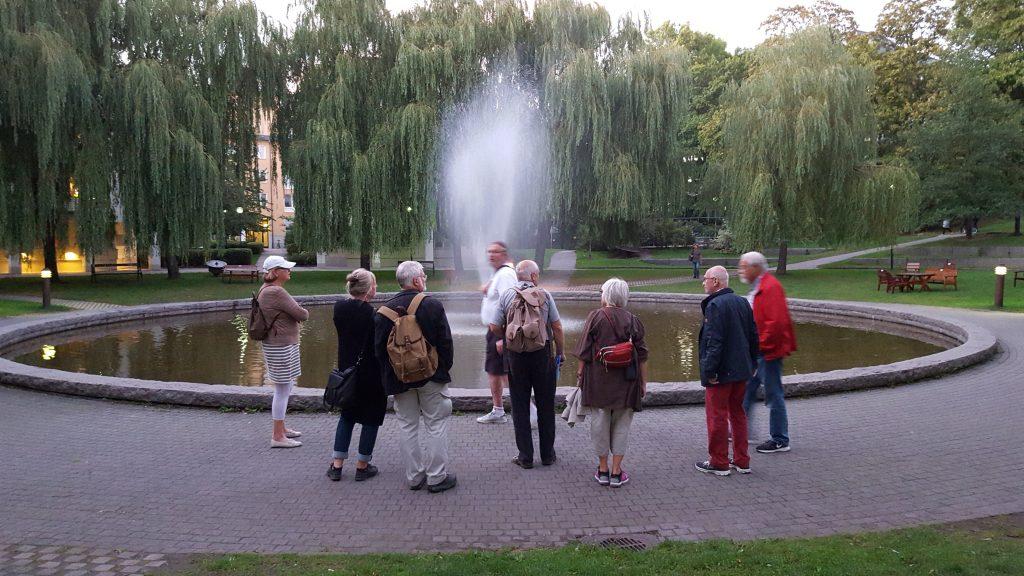 Ann, Aina, Stefan, Gunnar, Eric, Margareta, Bertil och Gunnar